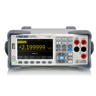 Siglent 6½ Dual Display Digital Multimeter